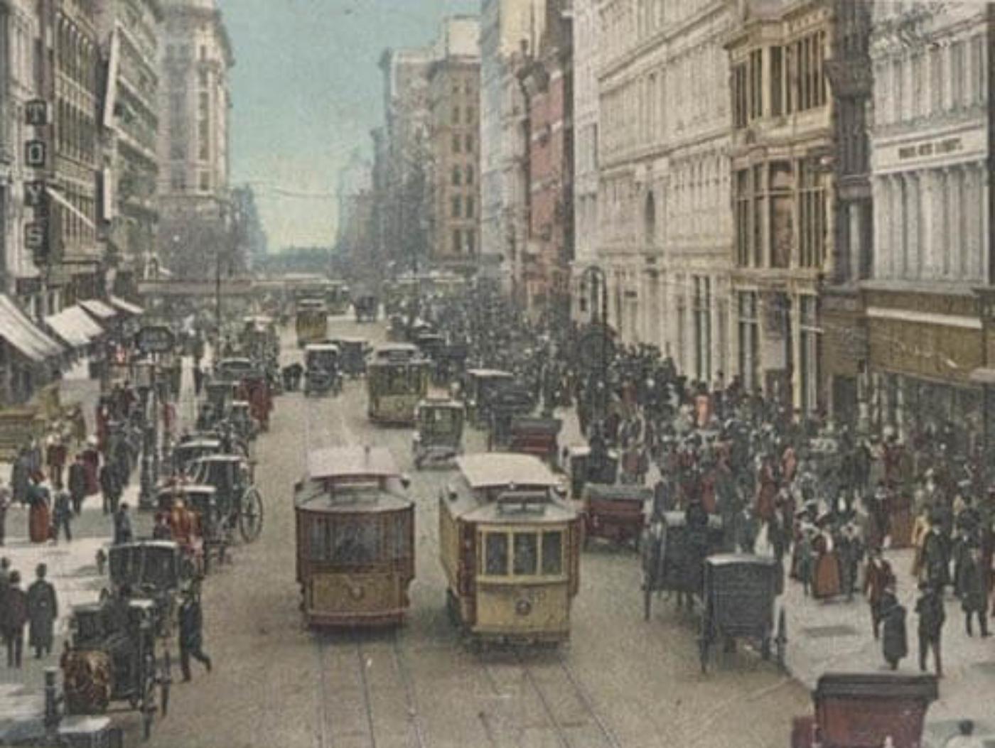 New York Trolley Cart